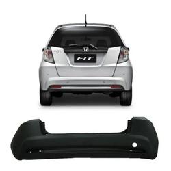 Parachoque Traseiro Honda Fit New 2013 á 2014 Pret... - Total Latas - A loja online do seu automóvel