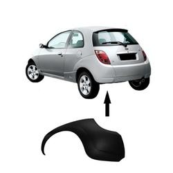 Parachoque traseiro Ford Ka de 2002 á 2007 preto l... - Total Latas - A loja online do seu automóvel