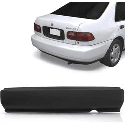 Parachoque Traseiro Honda Civic 92 á 95 Preto Liso - Total Latas - A loja online do seu automóvel