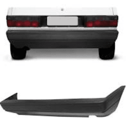 Parachoque Traseiro Gol de 1987 até 1994 Cinza esc... - Total Latas - A loja online do seu automóvel