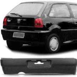 Parachoque Traseiro Gol de 1995 até 1999 Preto - Total Latas - A loja online do seu automóvel