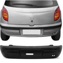Parachoque traseiro Celta até 2005 preto liso - Total Latas - A loja online do seu automóvel