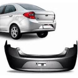 Parachoque traseiro Ford Ka Sedan de 2014 á 2018 p... - Total Latas - A loja online do seu automóvel