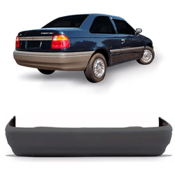 Parachoque traseiro Logus Cinza Escuro - Total Latas - A loja online do seu automóvel