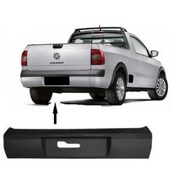 Parachoque Traseiro Saveiro GV/GVI Preto Liso - Total Latas - A loja online do seu automóvel