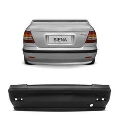 Parachoque Traseiro Siena 2001 Até 2004 Preto Liso... - Total Latas - A loja online do seu automóvel