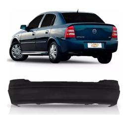 Parachoque traseiro Astra Sedan até 2002 preto lis... - Total Latas - A loja online do seu automóvel