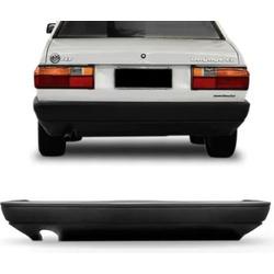 Parachoque Traseiro 1987 Até 1994 Cinza Escuro - Total Latas - A loja online do seu automóvel