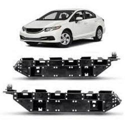 Guia de Parachoque Civic 2012 até 2016 Dianteiro - Total Latas - A loja online do seu automóvel