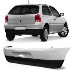 Parachoque Traseiro Gol G4 Preto Liso Parcial - Total Latas - A loja online do seu automóvel