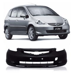 Parachoque Dianteiro Fit 2003 a 2006 Sem Furo Milh... - Total Latas - A loja online do seu automóvel