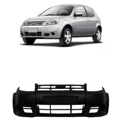 Parachoque Dianteiro Ka 2008 a 2011 Preto Liso - Total Latas - A loja online do seu automóvel