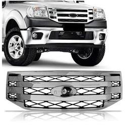 Grade Ranger 2009 até 2011 Cromado - Total Latas - A loja online do seu automóvel