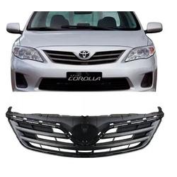 Grade Corolla 2012 á 2014 Preto C/ Friso Cromado - Total Latas - A loja online do seu automóvel