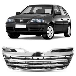Grade Gol/Parati/Saveiro GIII Fase 2 Cromado Sem E... - Total Latas - A loja online do seu automóvel