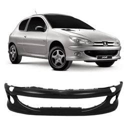 Parachoque Dianteiro Peugeot 206/ 2005 a 2008 Com ... - Total Latas - A loja online do seu automóvel