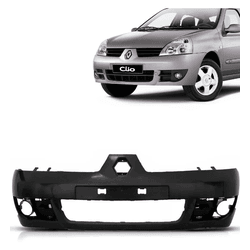 Parachoque Dianteiro Renault Clio 2007 a 2012 Pret... - Total Latas - A loja online do seu automóvel