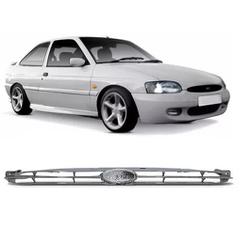 Grade Escort Zeteck 1997 Em Diante Cromado - Total Latas - A loja online do seu automóvel