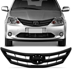 Grade Etios Até 2016 Preto - Total Latas - A loja online do seu automóvel