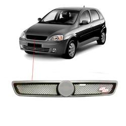 Grade Corsa 2003 á 2007 Prata Modelo SS - Total Latas - A loja online do seu automóvel