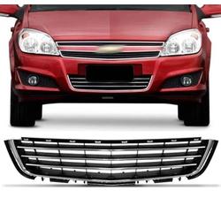 Grade Vectra 2009 Em Diante Inferior Parachoque Pr... - Total Latas - A loja online do seu automóvel