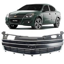 Grade Vectra 2009 Em Diante Preto C/ Friso Cromado - Total Latas - A loja online do seu automóvel
