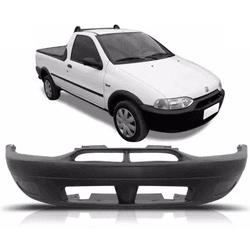 Parachoque Dianteiro Strada 1996 a 2000 Sem Furo D... - Total Latas - A loja online do seu automóvel