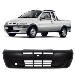 Parachoque Dianteiro Strada 2001 a 2004 Sem Furo M... - Total Latas - A loja online do seu automóvel