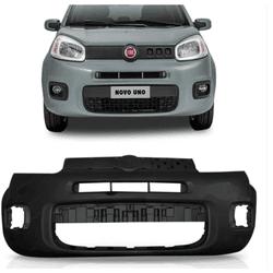 Parachoque Dianteiro Fiat Uno 2014 a 2016 Preto Li... - Total Latas - A loja online do seu automóvel