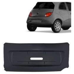 Parachoque traseiro Ford Ka até 2001 preto central - Total Latas - A loja online do seu automóvel