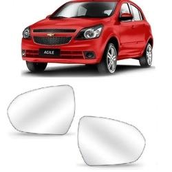 Lente Retrovisor Agile / Montana 2011 Em Diante - Total Latas - A loja online do seu automóvel