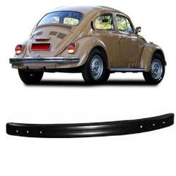 Parachoque Traseiro Fusca 1971 em diante Preto - Total Latas - A loja online do seu automóvel