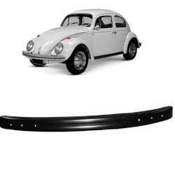 Parachoque Dianteiro Fusca 1971 em diante Preto - Total Latas - A loja online do seu automóvel