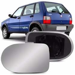 Lente Retrovisor Uno Economy 2011 Em Diante - Total Latas - A loja online do seu automóvel