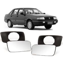 Lente Retrovisor Santana / Quantum Até 1990 - Total Latas - A loja online do seu automóvel