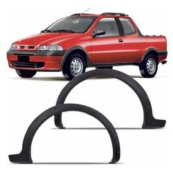 Moldura do Paralama Strada e Palio Weekend 2001 at... - Total Latas - A loja online do seu automóvel