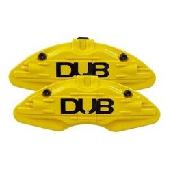 Capa de Pinça de Freio 14/26 Amarelo Par DUB - Total Latas - A loja online do seu automóvel