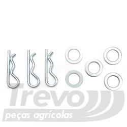 Jogo de Reparo Pulverizador Costal Jacto 942102 - TREVO PEÇAS
