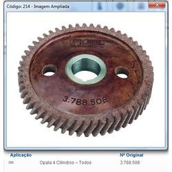 Engrenagem do comando Opala 4 cilindros (Fibra) - APL214 - AUTOPEÇAS TUNICAR