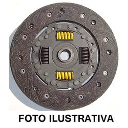 Disco embreagem Gol, Parati, Passat, Saveiro, e Voyage 1.0/1.5/1.6. Diametro 190mm e 24 estrias. - 5719 - AUTOPEÇAS TUNICAR