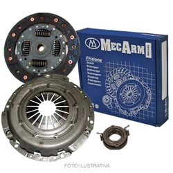 Kit de embreagem Mercedes Sprinter 310, 312, 410 e 412 1997 a 2002. Diametro 228mm e 26 estrias. Kit com Platô, disco e ... - AUTOPEÇAS TUNICAR