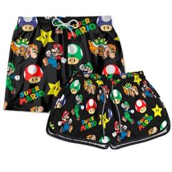 Kit Short Casal Mario World