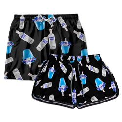 Kit Shorts Casal Masculino e Feminino Absolut Use ...