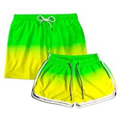 Kit Shorts Casal Masculino e Feminino Brasileirinh...