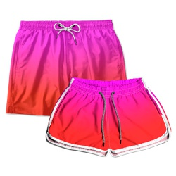 Kit Shorts Casal Masculino e Feminino Hot Baby Use...