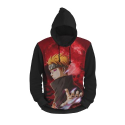 Moletom Anime Vermelho Full Print 3d com Capuz Uni... - Use Thuco