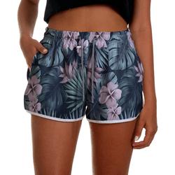 Short Praia Feminino Tropical Flowers Use Thuco -... - Use Thuco
