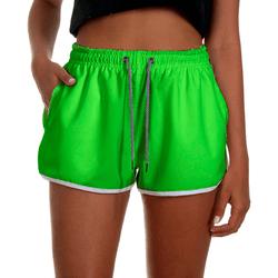 Short Praia Feminino Verde Neon Use Thuco - FM1031 - Use Thuco