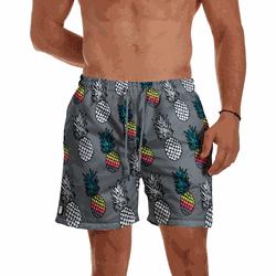 Short Praia Masculino Abacaxi Use Thuco - SH0144 - Use Thuco