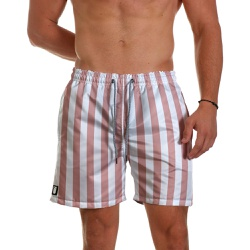 Short Praia Masculino Listras Nude Use Thuco - SH0... - Use Thuco